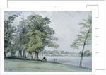 View on the Serpentine, Hyde Park by William Callow