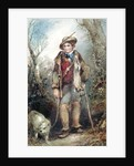 Boy with Rabbits by George Bryant Campion