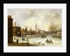 A View of Breda by Frans de Momper