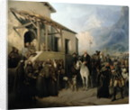 Field-marshal Alexander Suvorov on the St Gothard summit by Adolf Jossifowitsch Charlemagne