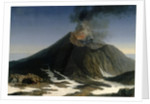 The Eruption of Etna by Jacob-Philippe Hackert