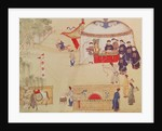 An archery contest, late 18th century by Chinese School