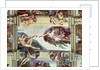 Sistine Chapel Ceiling: Creation of Adam by Michelangelo Buonarroti