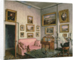 Col. Norcliffe's study at Langton Hall by Mary Ellen Best
