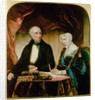 Portrait of William and Mary Wordsworth by Margaret Gillies