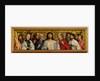 Christ and the Twelve Apostles by German School