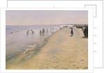 Summer Day at the South Beach of Skagen by Peder Severin Kroyer