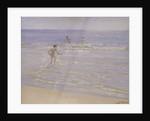 Sunshine at Skagen: Boys Swimming by Peder Severin Kroyer