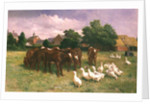 Cows and Ducks by Claude Cardon