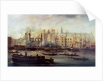 The Burning of the Houses of Parliament by David Roberts