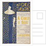 Poster advertising 'A Comedy of Sighs', a play by John Todhunter by Aubrey Beardsley