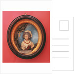 Miniature portrait of Mary Berry by Samuel Percy