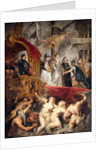 The Arrival of Marie de Medici in Marseilles by Peter Paul Rubens