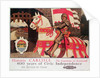 British Rail poster advertising 'Historic Carlisle, Gateway to Scotland' by Maurice Greiffenhagen