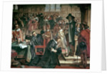 Attempted arrest of 5 members of the House of Commons by Charles I by Charles West Cope