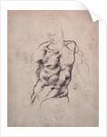 Figure Study by Michelangelo Buonarroti
