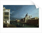 The Molo Looking West with the Doge's Palace in the Distance by Bernardo Bellotto