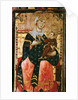 Enthroned Madonna and Child by Luccanese School