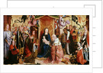 The Adoration of the Kings by Master of St. Severin