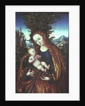 Virgin and Child by Lucas