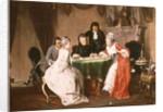 The Card Game by Johann Joseph Geisser