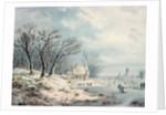 Landscape: Winter by J.J. Verreyt