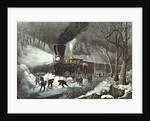American Railroad Scene by N. and Ives