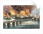 Fall of Richmond 2nd April 1865 by N. and Ives