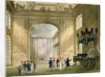 "Greenwich Hospital from Ackermann's ""Microcosm of London"" (print) by T. & Pugin"