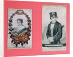 Queen Victoria and Prince Albert bookmarks by English School