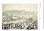 Brook Green Fair by Thomas Rowlandson