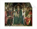 The Virgin and Saints by Francesco del Cossa
