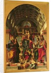 Madonna and Child with Saints by Bartolomeo Montagna