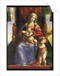 Virgin and Child with the infant St. John by D. & Garofalo