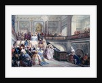 Fete at the Chateau de Versailles on the occasion of the Marriage of the Dauphin by Eugene-Louis Lami