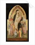 Madonna and Child Enthroned by Master of St. Verdiana