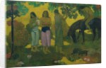 Rupe Rupe (Fruit Gathering) by Paul Gauguin