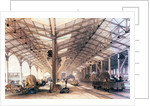 Great Western Railway: Freight shed at Bristol by English School