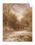 The Lane: Winter's Morning by George Alfred Williams
