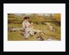 Feeding the ducks by Edward Killingworth Johnson