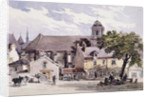 The Post House at Amboise by Charles Claude Pyne