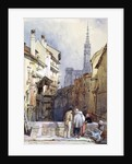A Canal at Strasbourg by Clarkson R.A. Stanfield