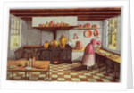 Kitchen of the Hotel St.Lucas, in the Hoogstraat, Rotterdam by Mary Ellen Best