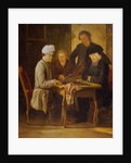 Voltaire at Chess by Jean Huber