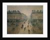Avenue de L'Opera, Paris by Camille Pissarro