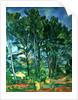 The Aqueduct (Montagne Sainte-Victoire seen through Trees) by Paul Cezanne