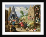 A Monkey Encampment by David the Younger Teniers