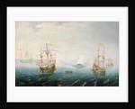 Shipping on Stormy Seas by Aert van Antum