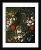 Vanitas Still Life with Flowers by J.H. Elers