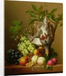 Still Life with Fruit and a Dead Partridge by Arnoldus Bloemers